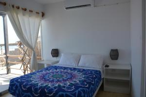 Cama o camas de una habitación en Playa Sol Apartamentos