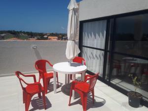 A balcony or terrace at Cobertura Porto do francês