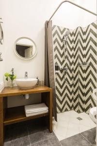 Ванная комната в Geography Apartments