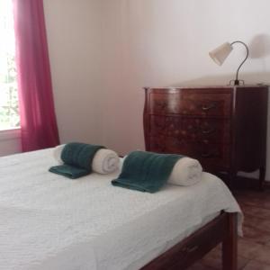 Una cama o camas en una habitación de casa kenya