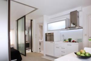 A kitchen or kitchenette at Miró Studio Apartments Dubrovnik