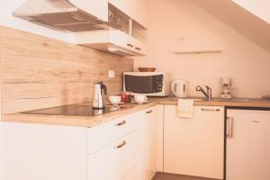 A kitchen or kitchenette at Apartments Wallas
