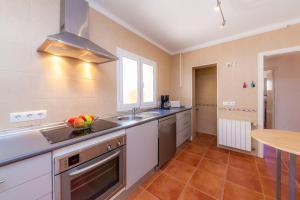 Küche/Küchenzeile in der Unterkunft Bona Mar