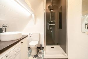 Ein Badezimmer in der Unterkunft LOFT