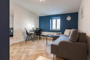 Coin salon dans l'établissement Rent-Apart Fabryczna