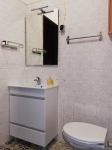 Uma casa de banho em TripGeo Apartment Roma