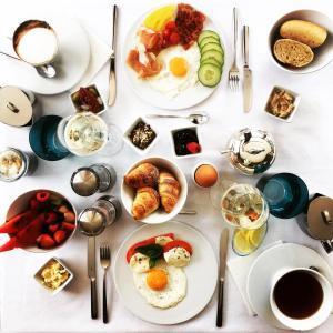 Možnosti snídaně pro hosty v ubytování VILLA BRICOLA - Boutique Apartments