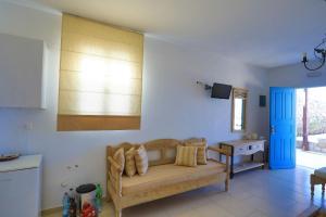 אזור ישיבה ב-Maganos Apartments