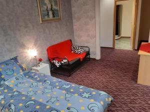 A bed or beds in a room at casa di Gino