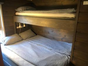 A bunk bed or bunk beds in a room at Classic Cabin Øvre Stordal