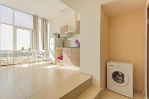 Ванная комната в Penthouse-apartment TwoPillows Petergofskoe shosse