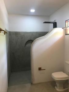 A bathroom at Villas Taturé