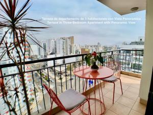 A balcony or terrace at ALU Apartments - Miraflores Park