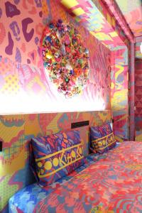 A bed or beds in a room at KAWAII Room - Addicted to TOKYO