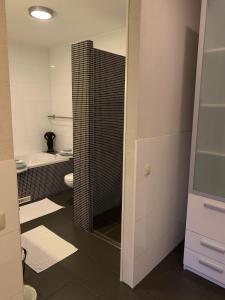 Salle de bains dans l'établissement Cenza Apartment