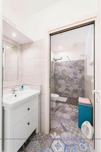 A bathroom at Casa Bianchera