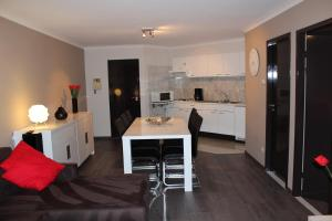 A kitchen or kitchenette at Hydro Palace Apartment