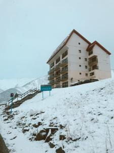 Apartur Las Leñas during the winter