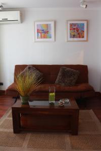 Zona de estar de Austral Rentahome Santa Beatriz