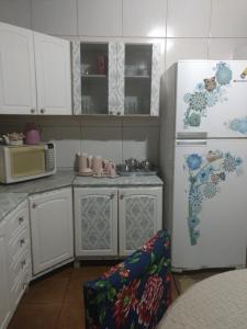 A kitchen or kitchenette at Casa de Bonito