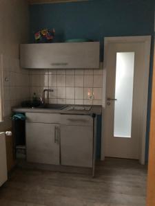 Küche/Küchenzeile in der Unterkunft Rübezahl