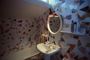 A bathroom at Casa Rural del Horno