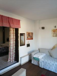 A bed or beds in a room at Antonella home