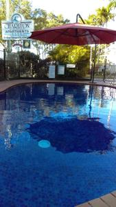The swimming pool at or near Charlton Apartments