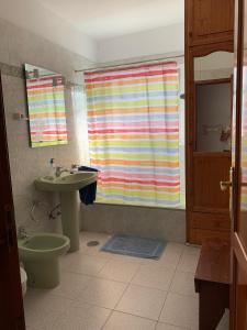 Een badkamer bij Casitas Rosheli
