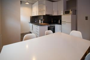 Küche/Küchenzeile in der Unterkunft Le rohan sawadee