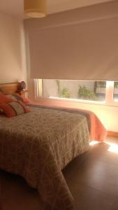 Una cama o camas en una habitación de Umain