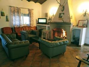 Zona de estar de Casa Rural Villa Mara