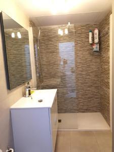 Koupelna v ubytování GARDEN 128