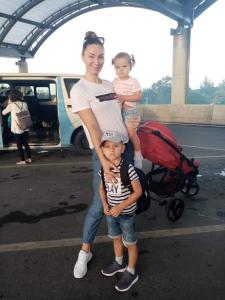 A family staying at Astana Subdivision By JeYo
