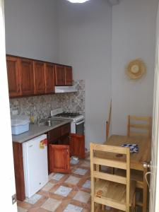 A kitchen or kitchenette at Residence Parque