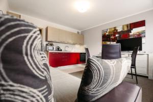 A kitchen or kitchenette at Apartments Pri nas