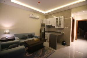 منطقة جلوس في Abha Park Furnished Units
