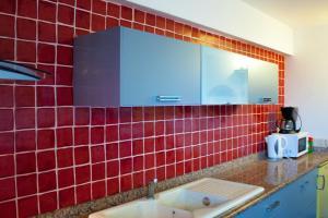 Ein Badezimmer in der Unterkunft Résidence Posidonie