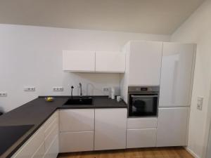 A kitchen or kitchenette at Großzügiges Appartement in der Nähe von Baden-Baden