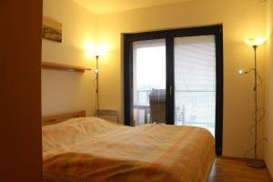 Postel nebo postele na pokoji v ubytování Apartmán Lipánek