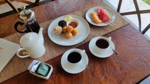 Breakfast options available to guests at The Secret Jungle Villas by Premier Hospitality Asia