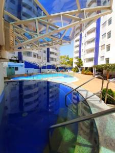 The swimming pool at or near Prime Águas da Serra