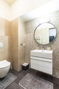 Kúpeľňa v ubytovaní Apartment I Kovacska, historical centre