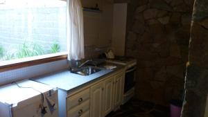 Una cocina o kitchenette en Los notros 190