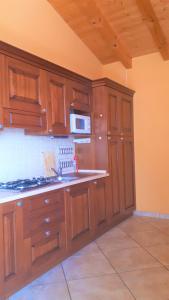 Cucina o angolo cottura di Residence La Sorgente
