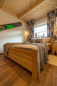 Postel nebo postele na pokoji v ubytování Apartament Leśny