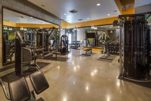 The fitness center and/or fitness facilities at Stay Alfred on G Street