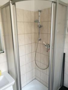 Ein Badezimmer in der Unterkunft Herrschaftliche Wohnung