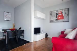 Ruang duduk di Days in Barcelona Eixample