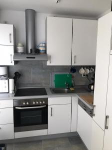 Küche/Küchenzeile in der Unterkunft App 647 Panoramic Hohegeiß mit WLan